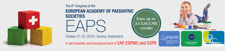 EAPS 2016  - October 21-25 Geneva, Switzerland
